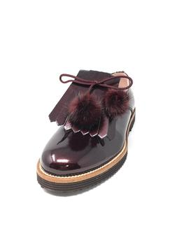 BLUCHER SOLAPA CHAROL BORDO
