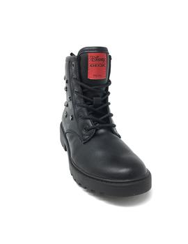 BOTA GEOX NEGRA  MINNIE MOUSE